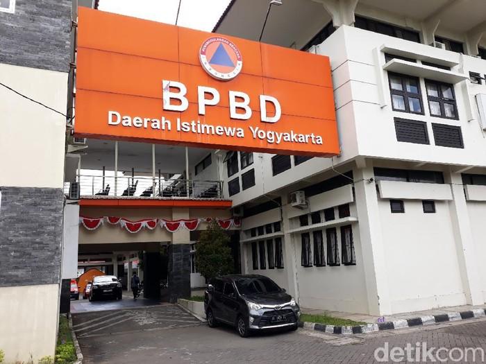 Kantor BPBD Daerah Istimewa Yogyakarta (DIY), Kamis (21/1/2021).