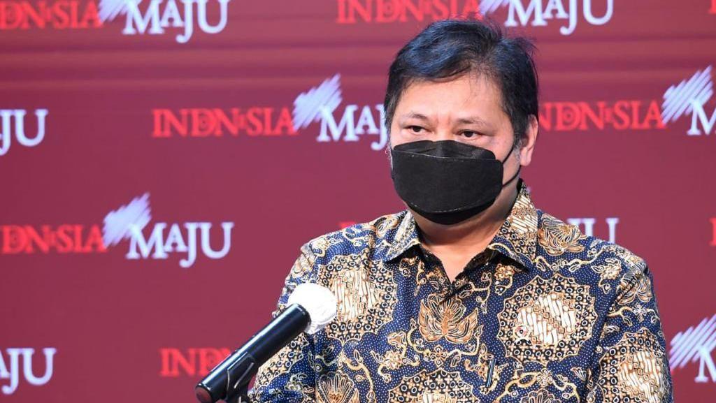 Respons Menko Airlangga Disinggung Diam-diam Terinfeksi Covid-19