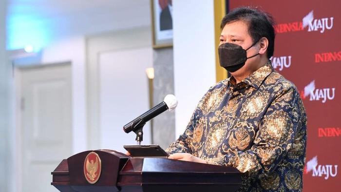 Ketua Komite Penanganan COVID-19 dan Pemulihan Ekonomi Nasional Airlangga Hartarto