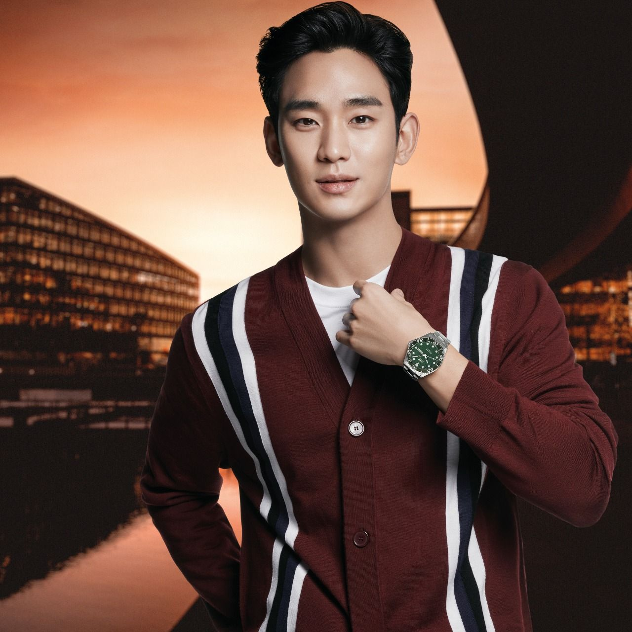 Kim Soo Hyun jadi brand ambassador Mido