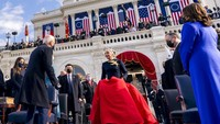9 Momen Stylish di Inaugurasi Joe Biden, Lady Gaga Hingga Anak Tiri Kamala