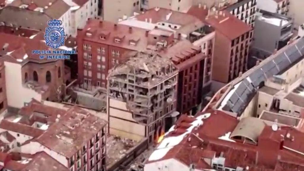 Korban Tewas Ledakan Dahsyat di Madrid Jadi 4 Orang