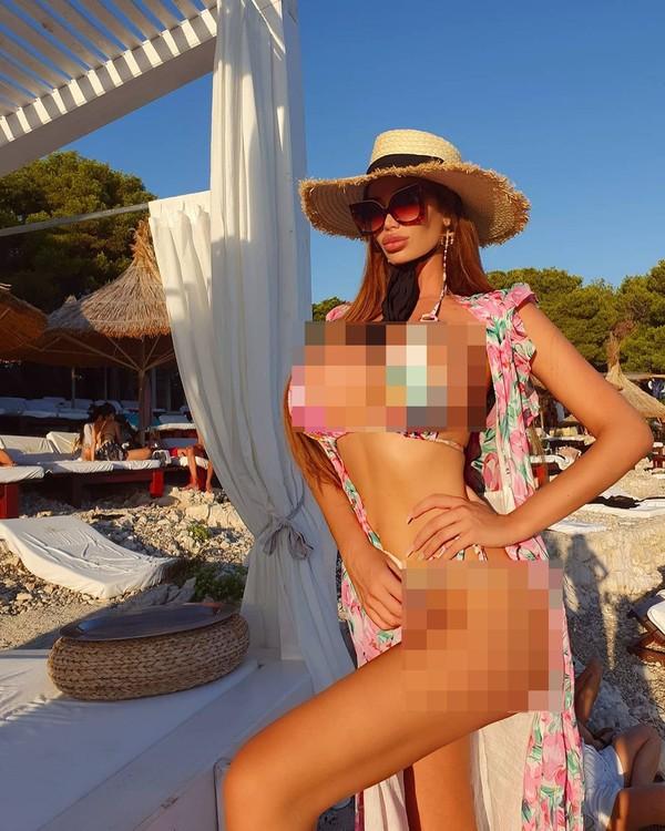 Tinggal di Kroasia, Soraja kerap membagikan keindahan negaranya saat liburan. (Instagram/sorajavucelic)