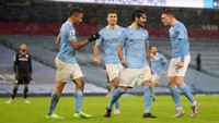 Man City Bisa Quadruple? Guardiola: Dongeng!