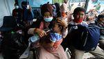 Masuk Kota Solo, Pengungsi Gempa Sulbar Jalani Rapid Antigen