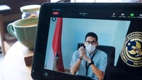 Sandiaga Ajak Singapura Buka Travel Bubble
