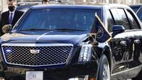 Benteng Berjalan, Intip Canggihnya Keamanan dan Persenjataan Mobil Dinas Joe Biden