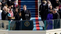 Pelantikan Joe Biden dalam Rangkaian Foto