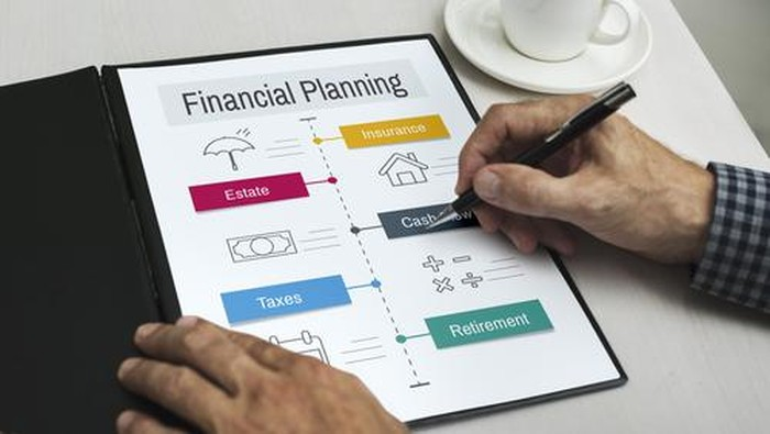 Ilustrasi perencanaan keuangan