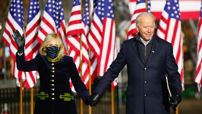Presiden AS Joe Biden dan istri