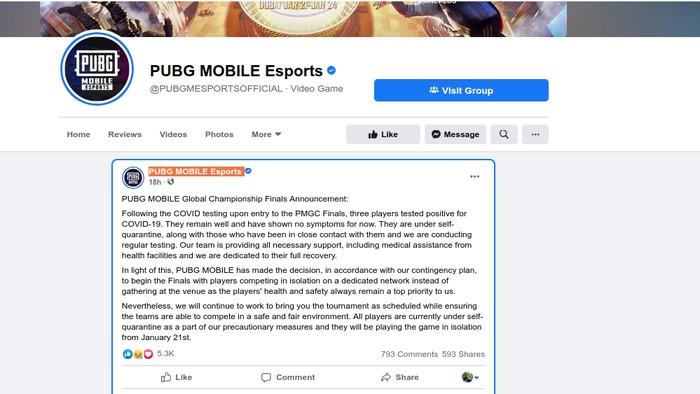 PUBG MOBILE Esport