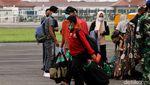 Pengungsi Gempa Sulbar Tiba di Bandara Adi Soemarmo Solo