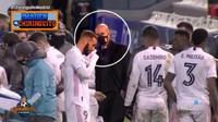 Terekam Kamera! Zidane Mukanya Pasrah, Marcelo Isco Ketawa
