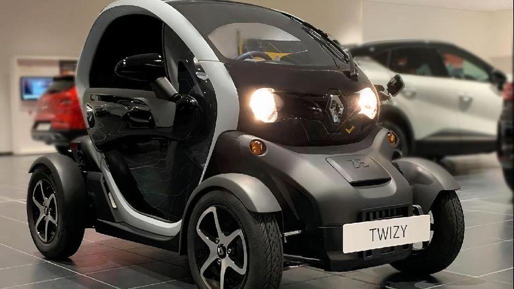 Renault Twizy, Mobil Listrik 2 Penumpang Dijual di RI Seharga Rp 408 Juta