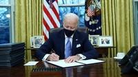 Resmi Jadi Presiden, Biden Langsung Batalkan Kebijakan Trump