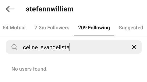 Stefan William dan Celine Evangelista