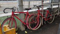 Melihat Kondisi Tempat Parkir Sepeda di Stasiun-stasiun KRL
