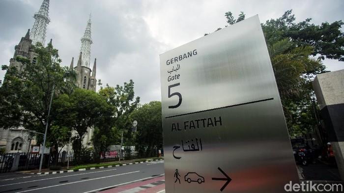 Proyek pembangunan terowongan silaturahmi telah dimulai pada 20 Januari lalu. Arus lalu lintas di kawasan Masjid Istiqlal dan Gereja Katedral pun dialihkan.
