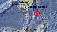 Gempa M 7,1 di Timur Laut Sulut Akibat Aktivitas Subduksi Lempeng Filipina