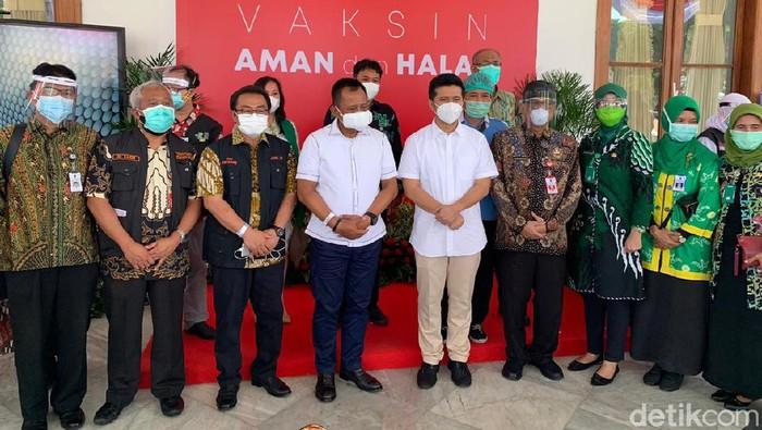 vaksinasi di pemprov Jawa Timur