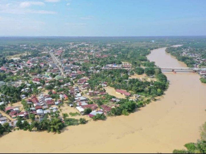 Banjir di Aceh Tamiang (Foto: dok BPBA)