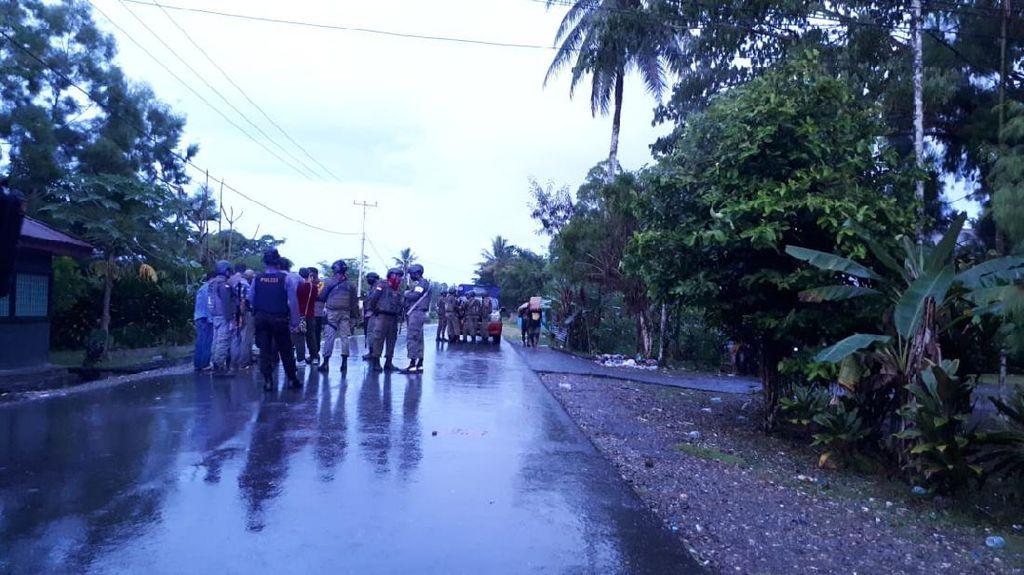 Dua Kelompok Warga di Kwamki Narama Timika Papua Bentrok, 3 Orang Kena Panah