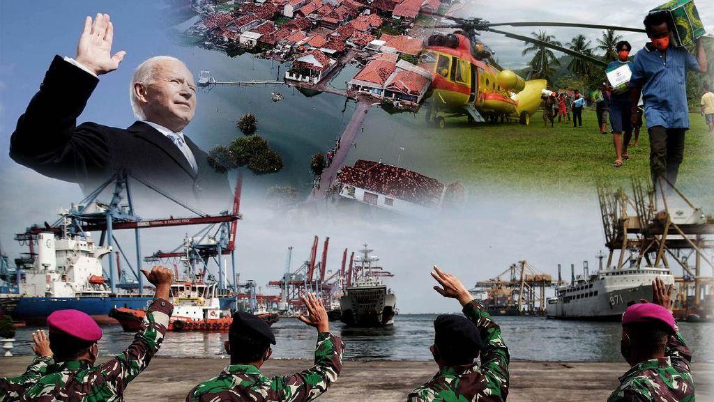Pelantikan Joe Biden, Kapolri Hingga Bencana Masih Menghadang