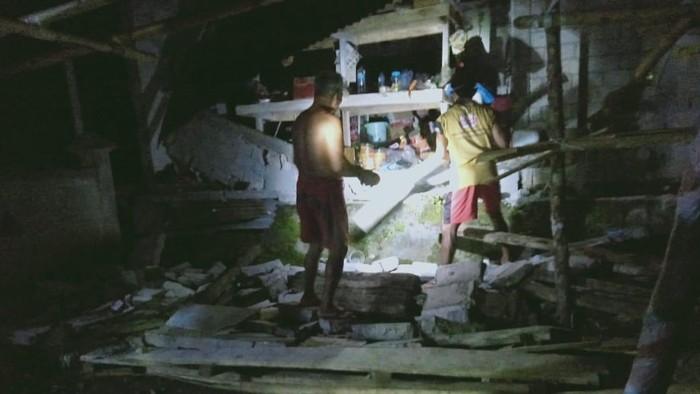Dampak kerusakan gempa di timur laut Sulut (Istimewa)