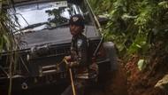 Potret Perjuangan Mendistribusikan Bantuan untuk Korban Banjir Kalsel