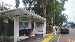 Penampakan Halte Bus yang Jadi Tempat Mesum Sejoli di Senen, Jakpus