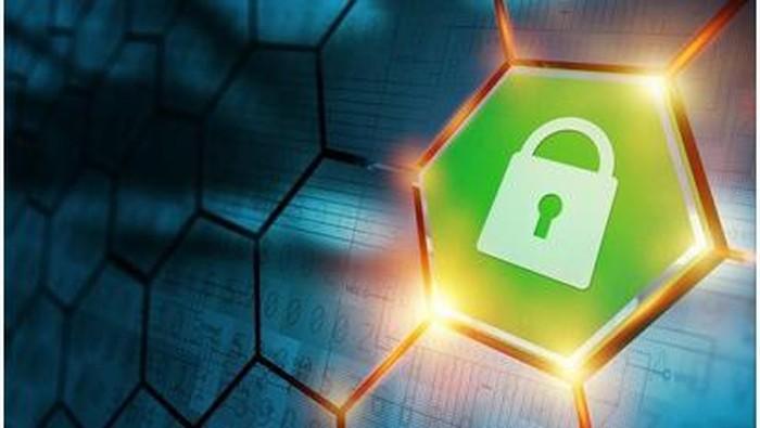 Ilustrasi keamanan siber