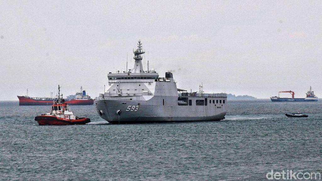 TNI AL Kirim Kapal Perang-Helikopter untuk Misi Perdamaian ke Lebanon