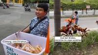 Jualan Camilan dari Brebes ke Jogja, Tunanetra Ini Bikin Haru Netizen
