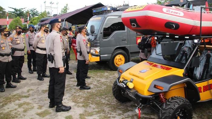 Kapolda Kalteng Irjen Dedi Prasetyo cek kesiapan sarpras untuk tanggulangi bencana