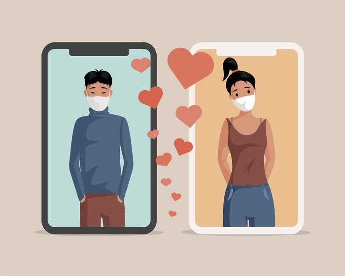 Menemukan pasangan lewat aplikasi