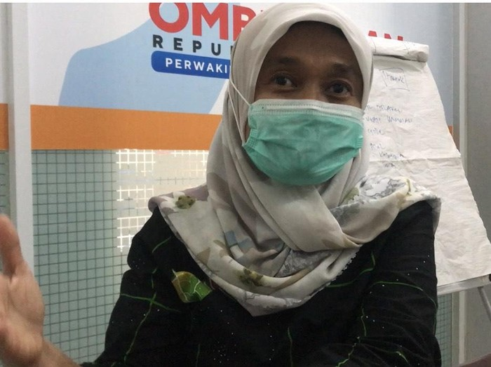 Kepala Ombudsman Perwakilan Sumatera Barat Yefni Heriani,