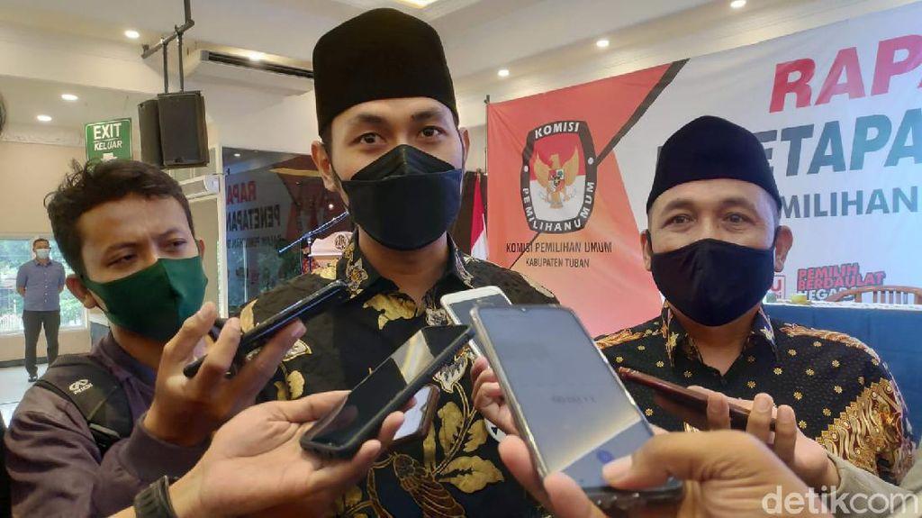 KPU Tetapkan Lindra-Riyadi Jadi Bupati dan Wabup Tuban Terpilih