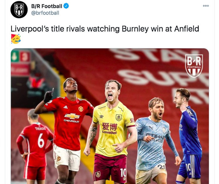 Meme Liverpool Burnley