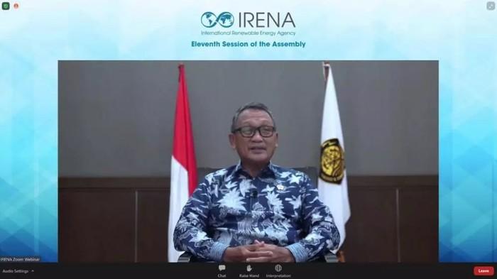 Menteri Energi dan Sumber Daya Mineral (ESDM),