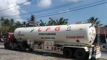 Mobil Pengangkut LPG Bocor, Pertamina Pastikan Pasokan Tetap Aman