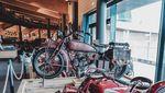 Potret Museum Motor Klasik Tertinggi di Dunia Sebelum Ludes Dilalap Api