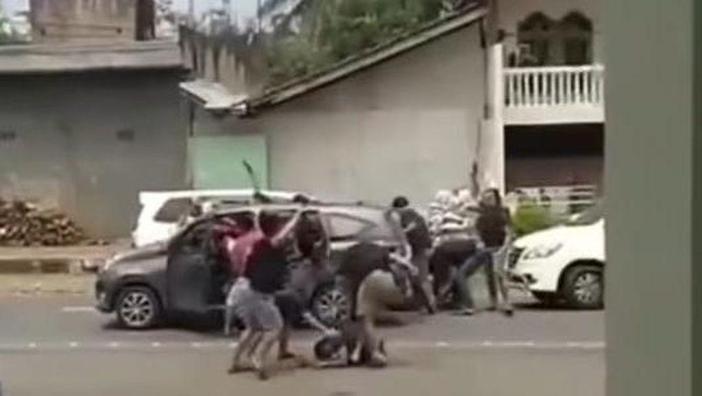 Detik-detik Perampok Setengah Miliar di Semarang Ditangkap Terekam Kamera!