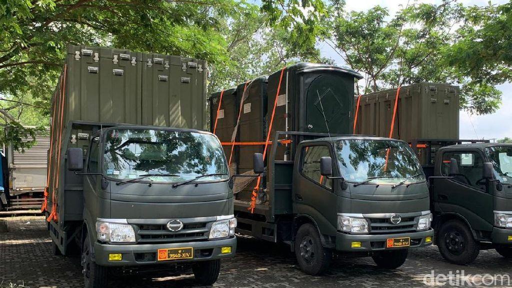 Mulai Dibangun, RS Lapangan untuk Corona Solo Pakai Standar Daerah Tempur