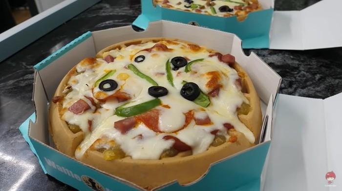 Pizza Waffle Jadi Tren di Korea