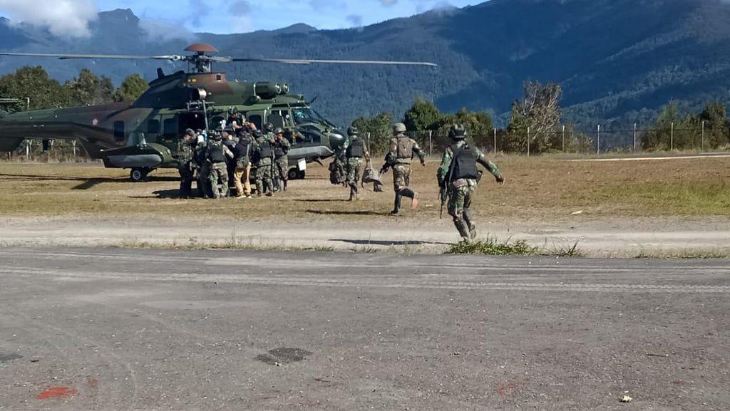 2 Prajurit Gugur Ditembak KKB, TNI Akan Ganti Pasukan Tugas di Papua