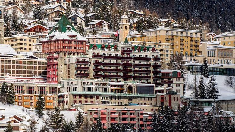Resort Ski Mewah St Moritz
