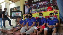 Ini 5 Perampok Bersenpi yang Gasak Duit Setengah Miliar di Semarang