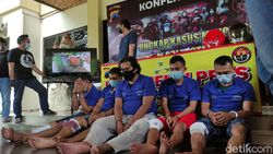 Akhir Pelarian Kawanan Perampok Duit Setengah Miliar di Semarang
