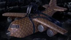 Louis Vuitton Rilis Tas Bentuk Pesawat, Netizen Bingung Fungsinya