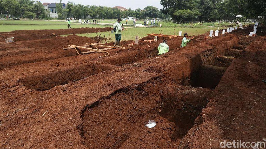 Ini Lokasi Tambahan Makam Baru Jenazah COVID-19 di DKI Jakarta